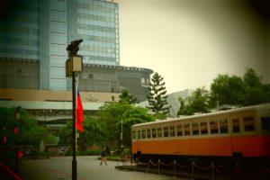 台北駅東口から見える台北バスターミナル