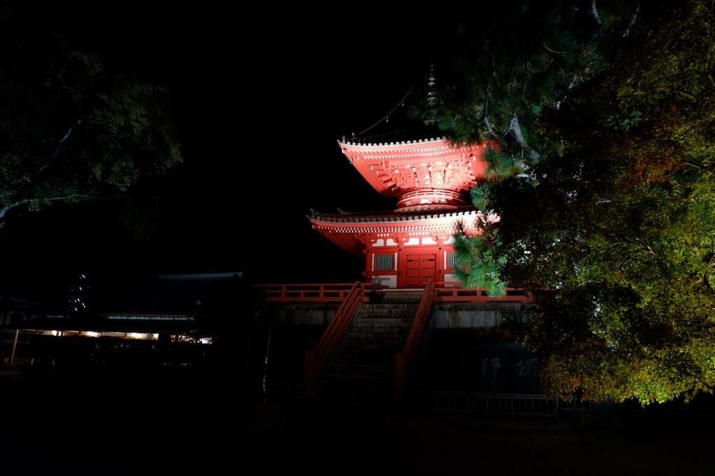大覚寺心経宝塔1