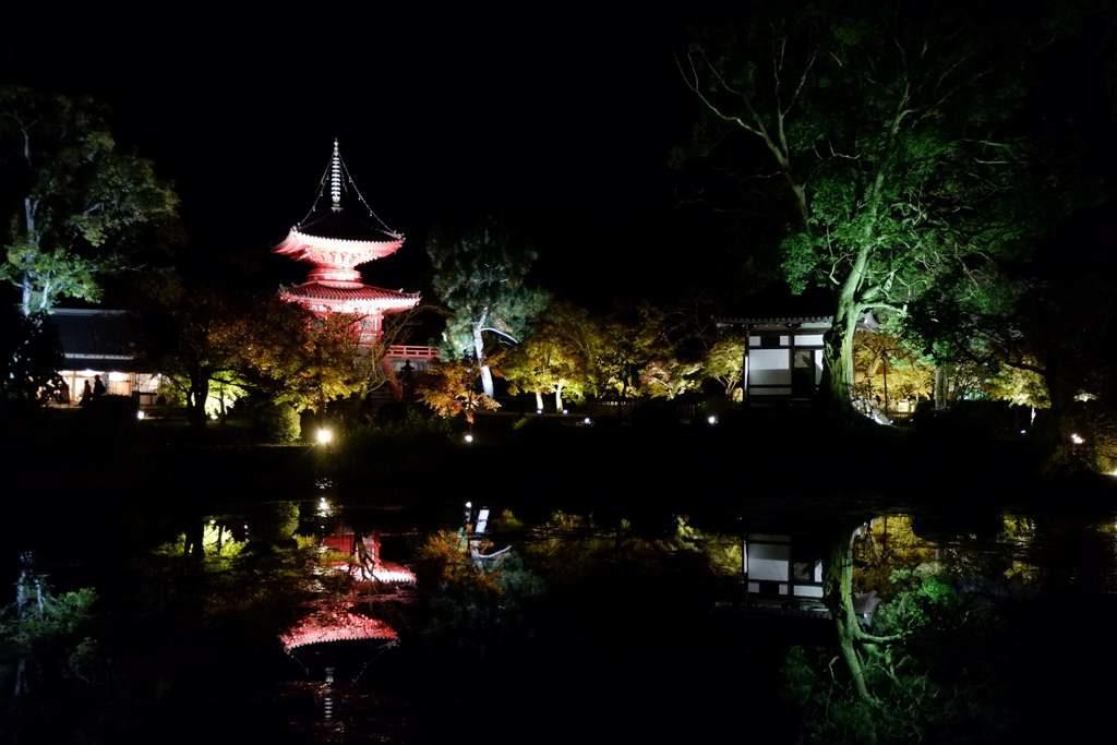 大覚寺心経宝塔3