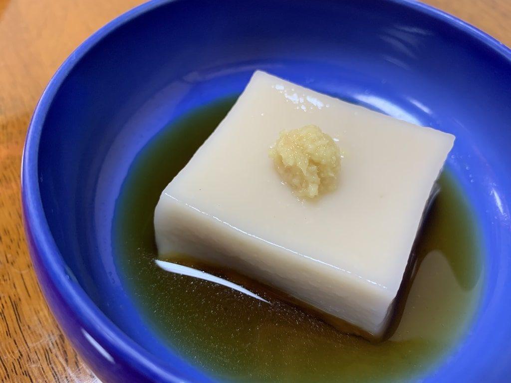 西山艸堂-胡麻豆腐