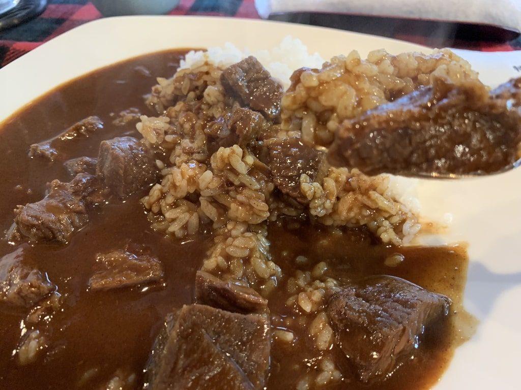 くいしんぼー山中の近江牛カレー実食