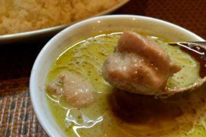 みうらや タイ食堂のグリーンカレー実食