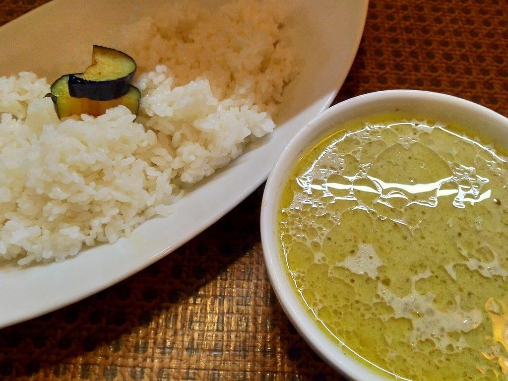 タイ食堂のグリーンカレー