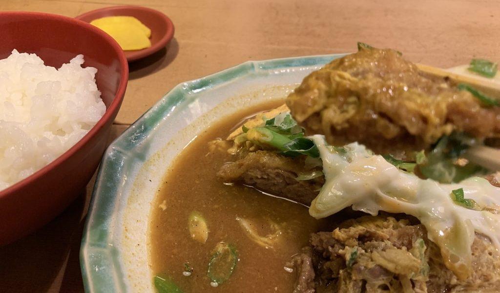 多津屋 ダブルカレー実食