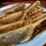 北京料理 盛華亭のゴマ入り焼き餃子
