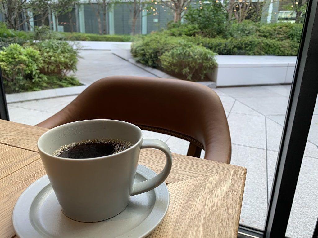 The Gatehouseの食後のコーヒー min
