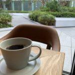The Gatehouseの食後のコーヒー