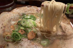 熟成麺屋 神来の特製炙りチャーシューメン実食