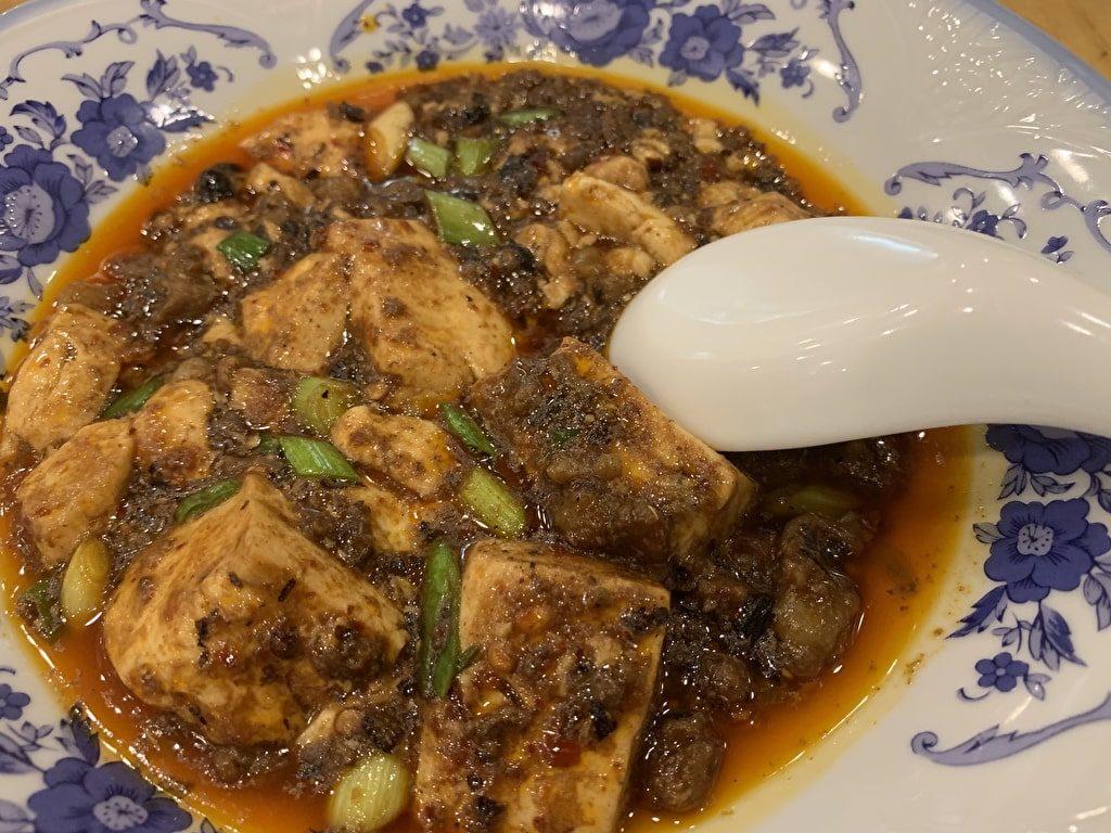 大鵬の牛肉麻婆豆腐