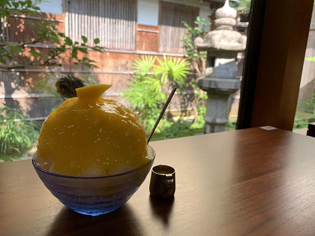 中村軒のマンゴー氷