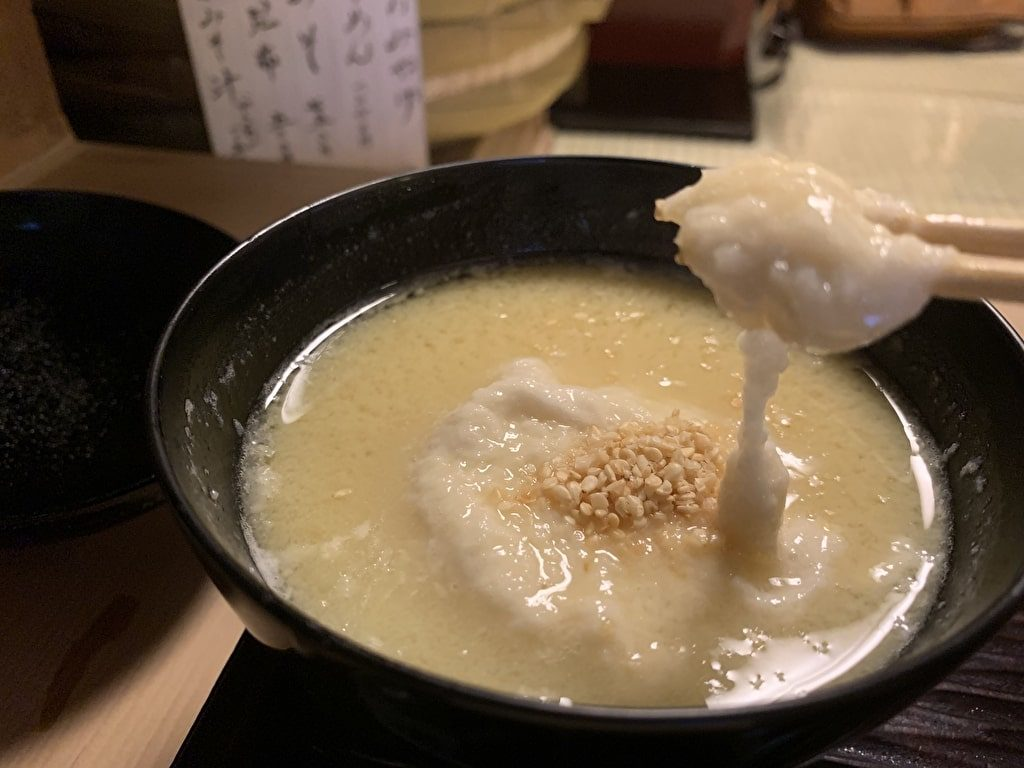 志る幸のおとしいもの味噌汁実食