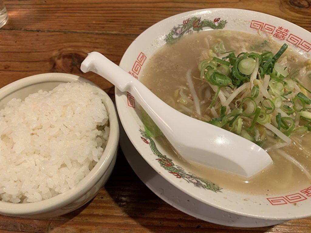 ‼︎の黄そば+ライス