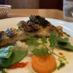 シェ キクスイの淡路島沖の真鯛のポワレ