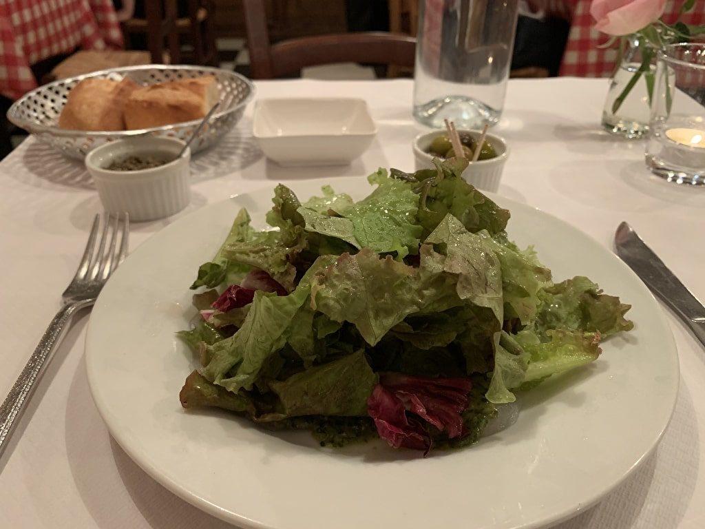 バジル風味サラダ