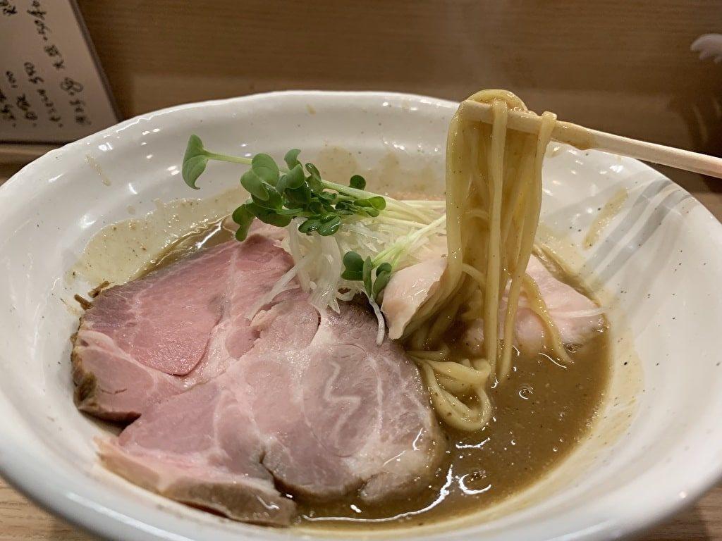 麺処 鶏谷の熟成鶏塩そば実食