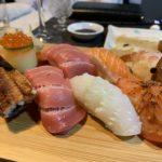 ウランバートルの寿司廣の寿司1人前