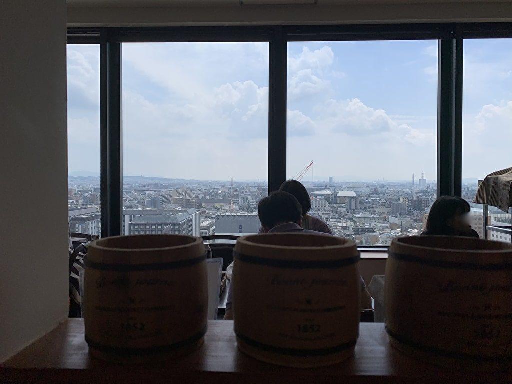 キッチン-ゴン-ザ・キューブからの眺望