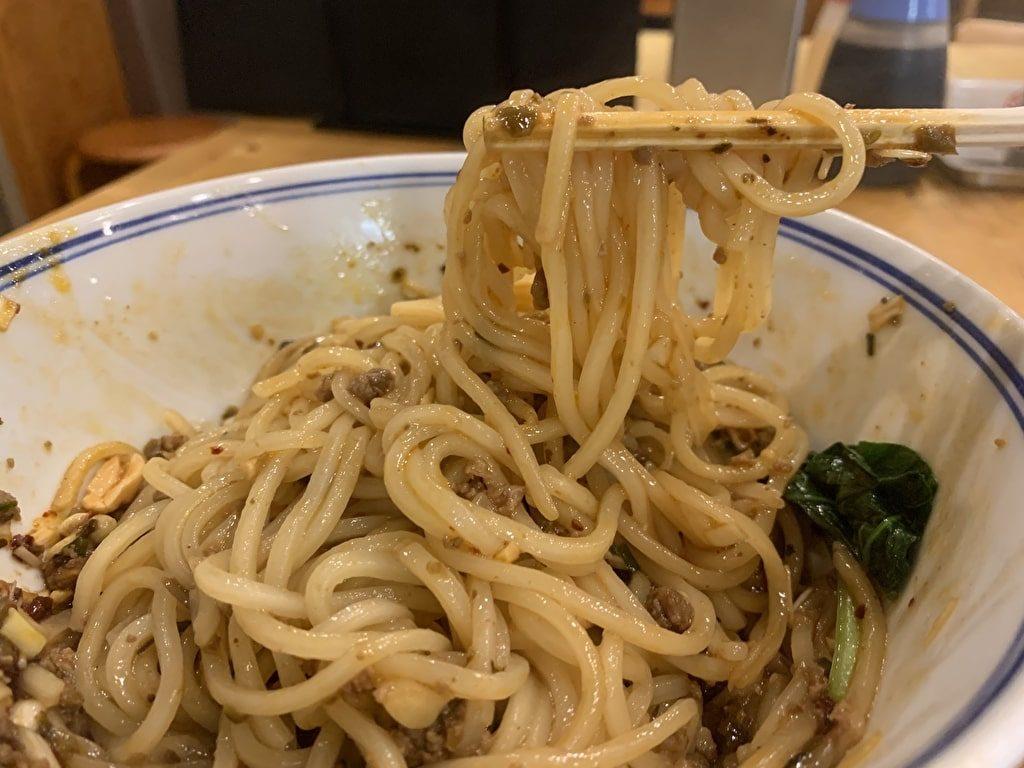 大鵬の汁なし担々麺実食