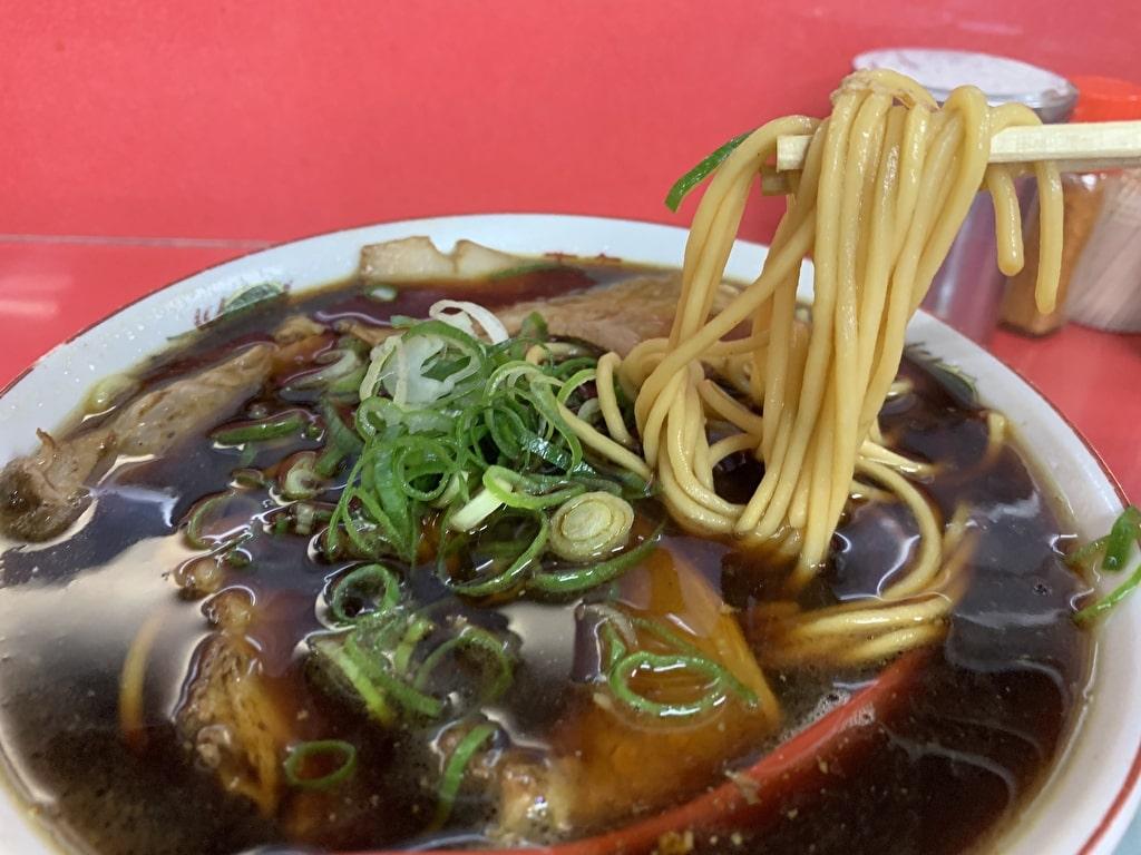 新福菜館-本店の中華そば並実食