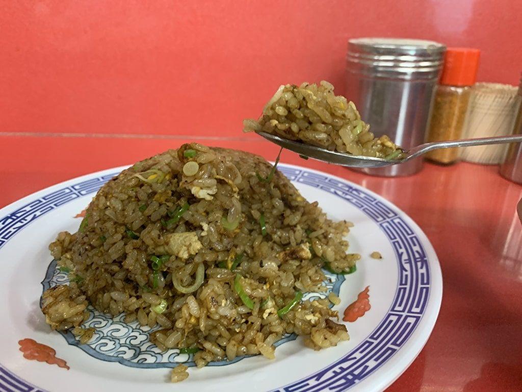 新福菜館-本店の焼き飯実食