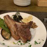 Osteria Ozaki用草藥烤的澳大利亞羊肉