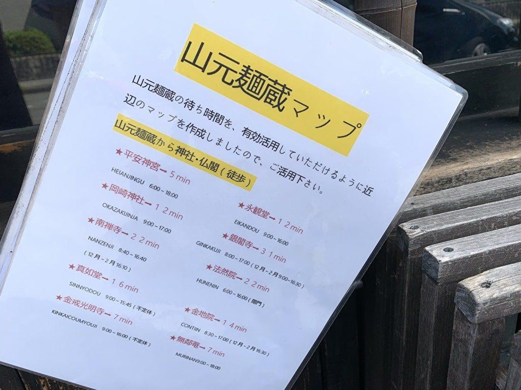 山元麺蔵周辺散策案内