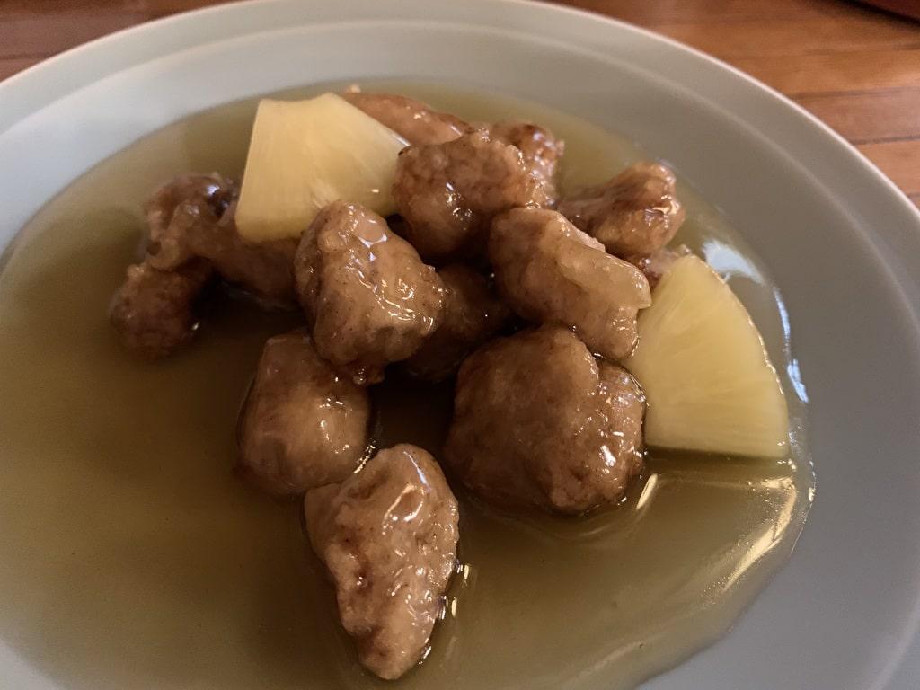 広東料理-糸仙の酢豚