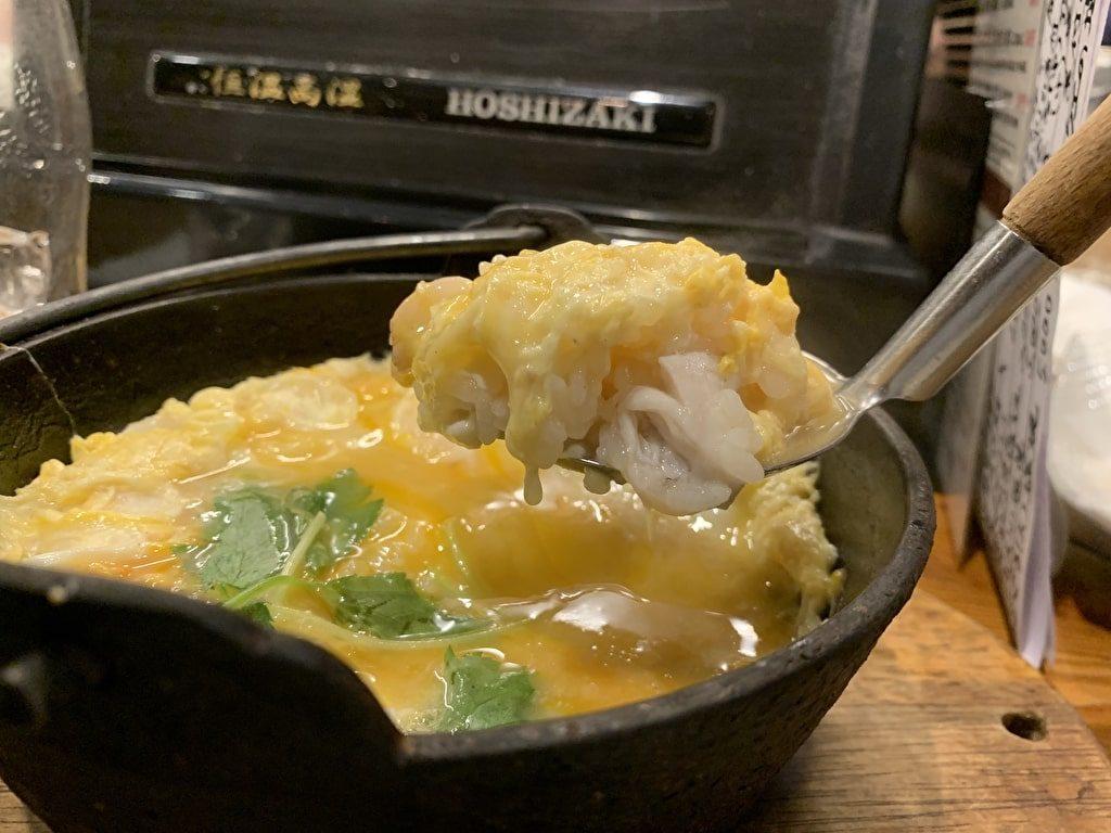 Gourmet Sake La rica comida variada cocinada de Ruyeo del queu