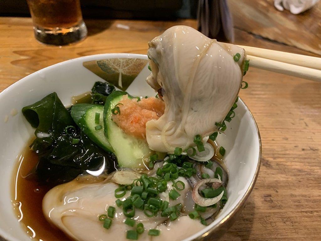 Sake gourmet Vinagre de ostras Senboku Toe de Ruyi
