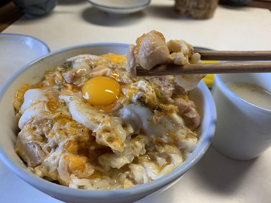 鳥岩楼の親子丼実食