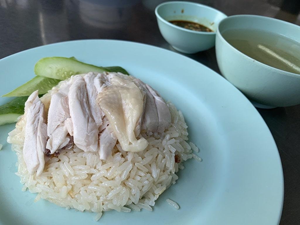 Khao Man Gai von Larn Gai Thong Pratunam