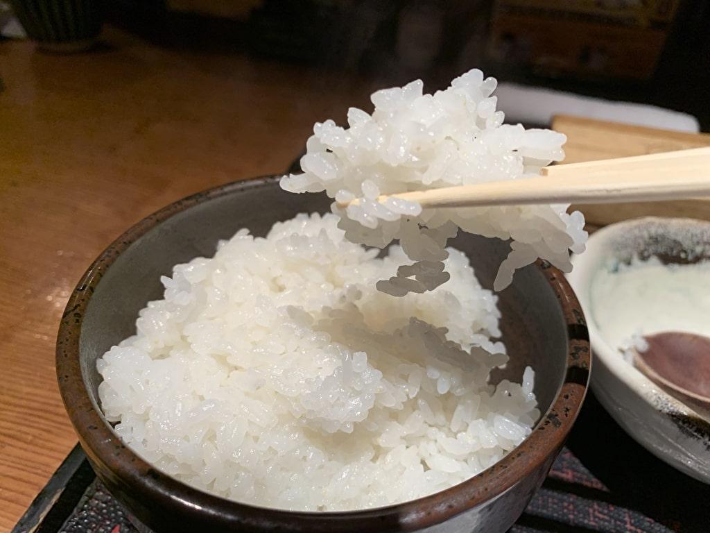 八代目儀兵衛の釜炊き白ご飯
