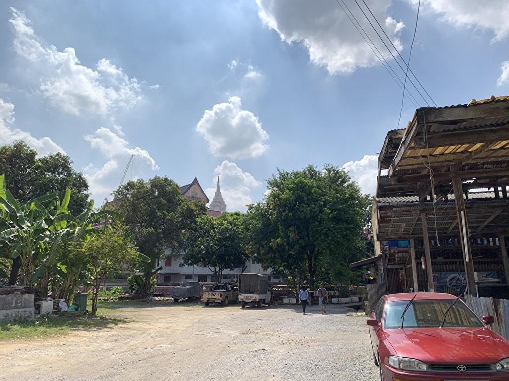 Bagaimana menuju ke Wat Pak Nam 4