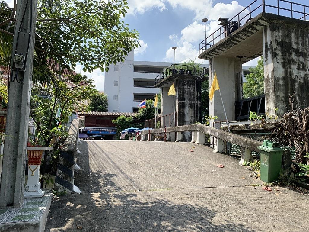 Bagaimana menuju ke Wat Pak Nam 6