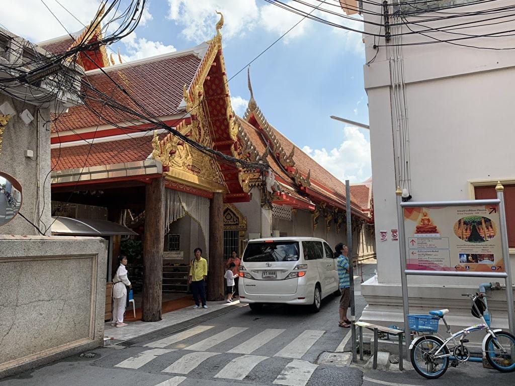 Bagaimana menuju ke Wat Pak Nam 8
