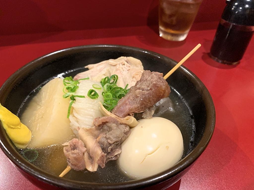 京都ハナビのおでん