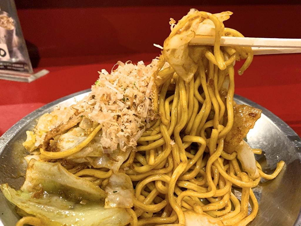 京都ハナビのソース焼きそば実食