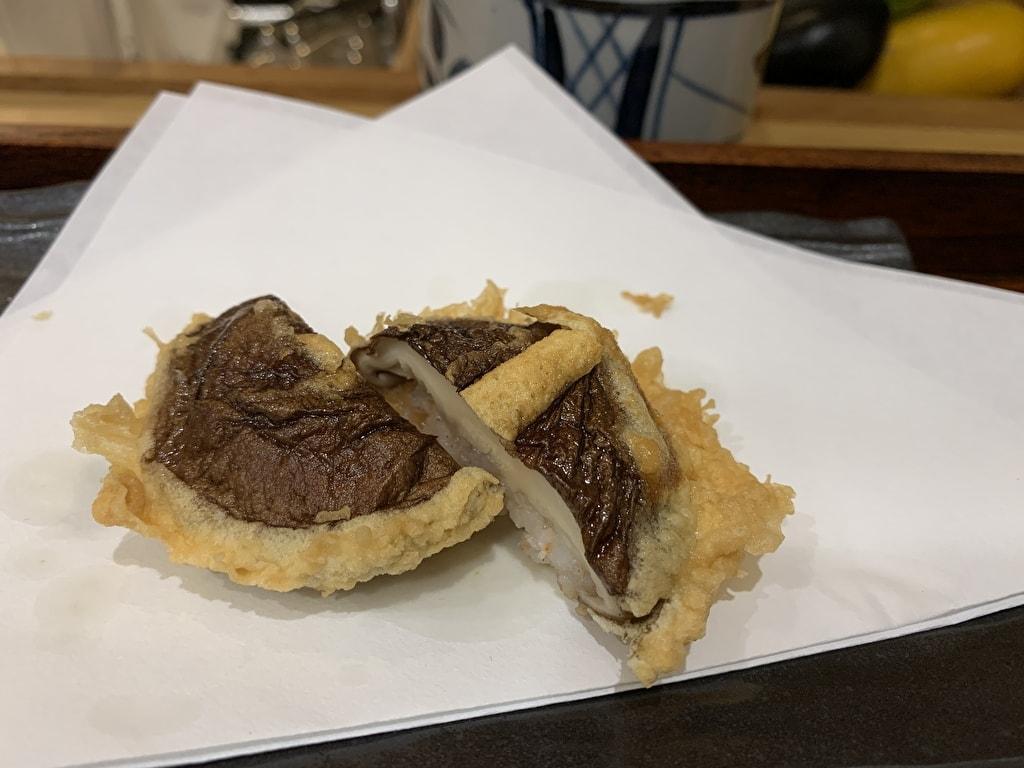 天ぷら処にしむらの椎茸