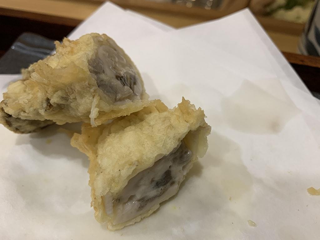 天ぷら処にしむらの牡蠣