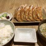 ぎょうざ処亮昌の餃子定食