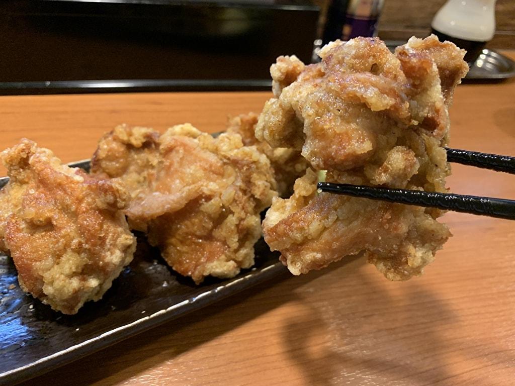 らぁ麺とうひちの唐揚げ実食