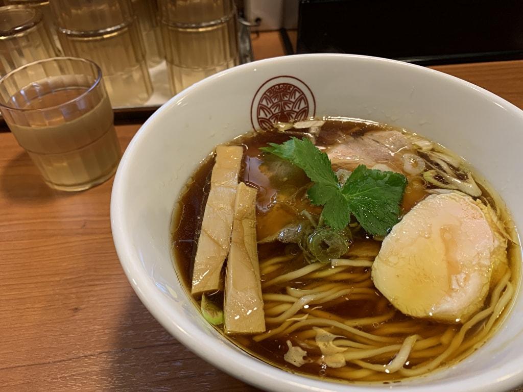 らぁ麺とうひちの鶏醤油らぁ麺
