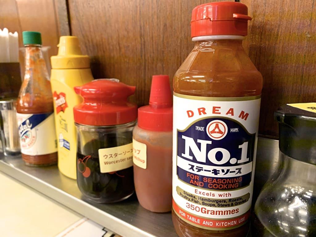 ジャッキーステーキハウスのNo.1ステーキソース