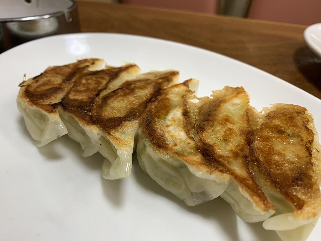 マルシン飯店の熟成豚肉餃子