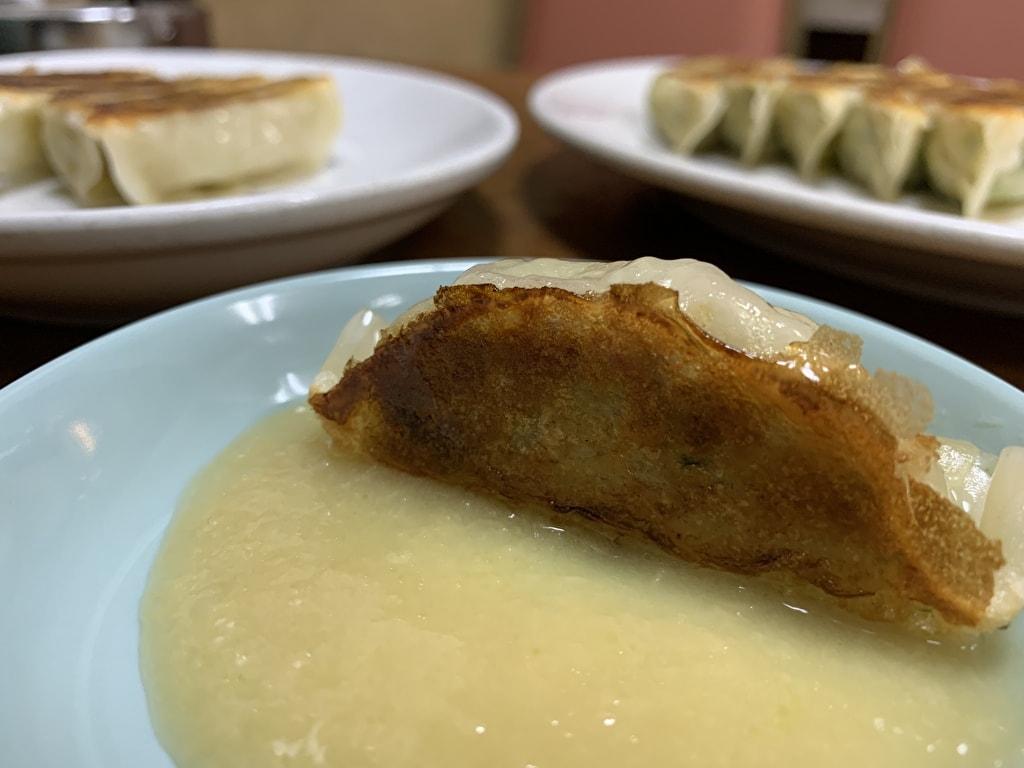 マルシン飯店 熟成豚肉餃子+餃子醬