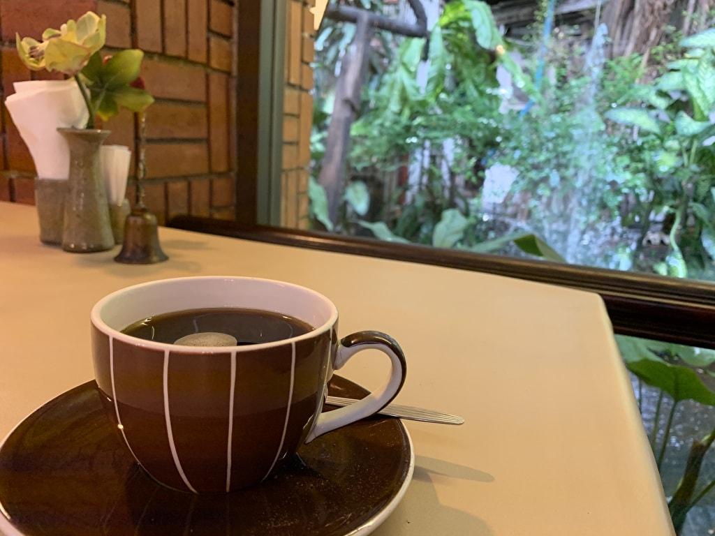 ワナカーム食後のコーヒー