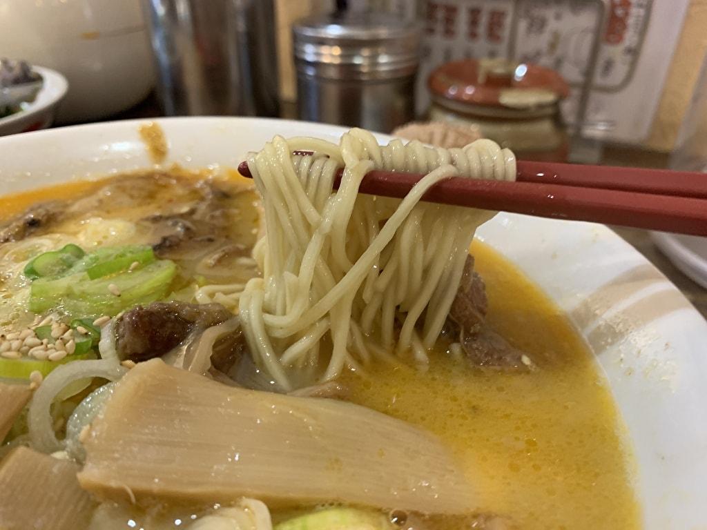 中華そば高安のスジラーメン実食