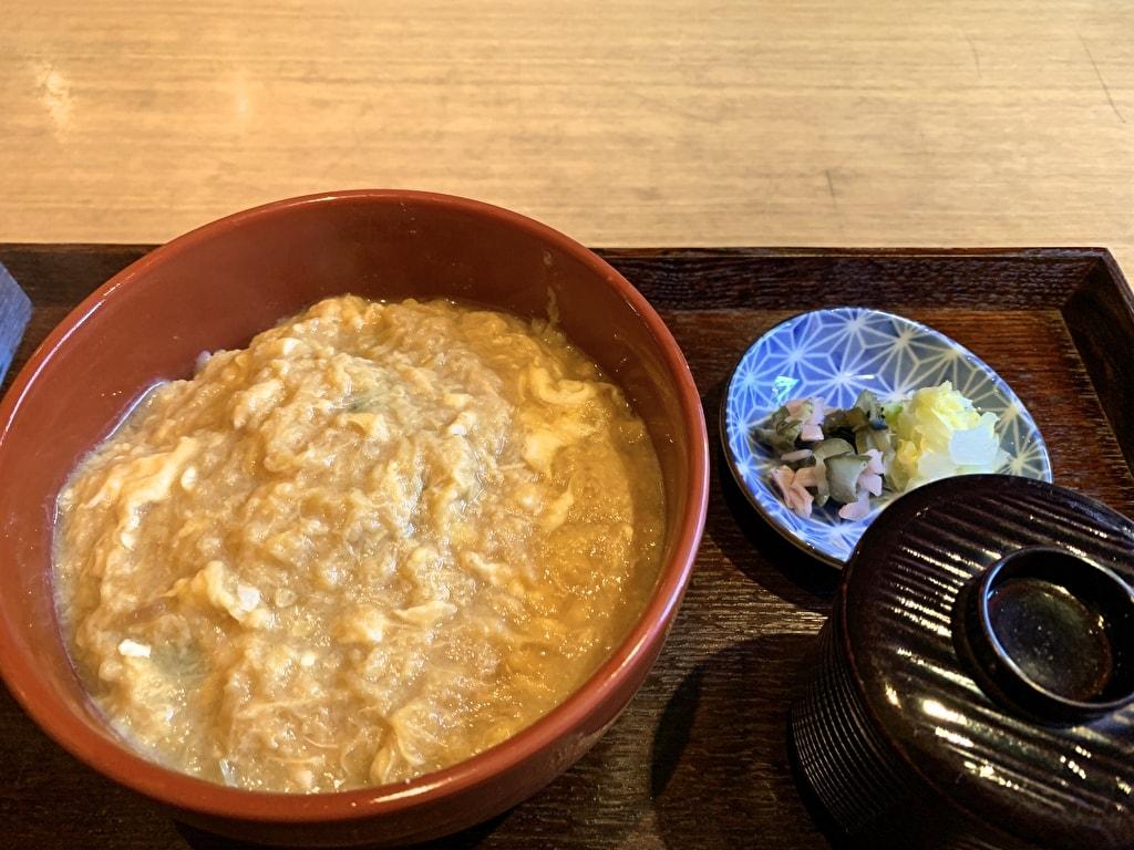 岡北の衣笠丼