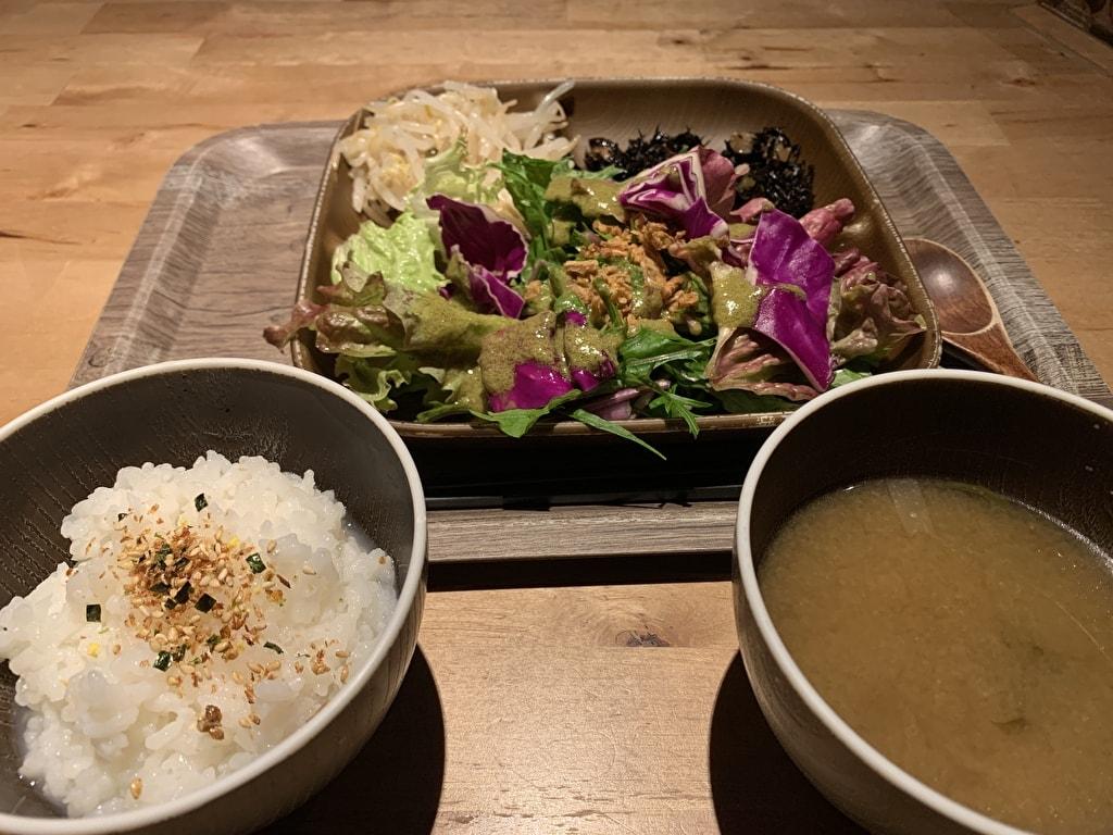 都野菜賀茂の朝食