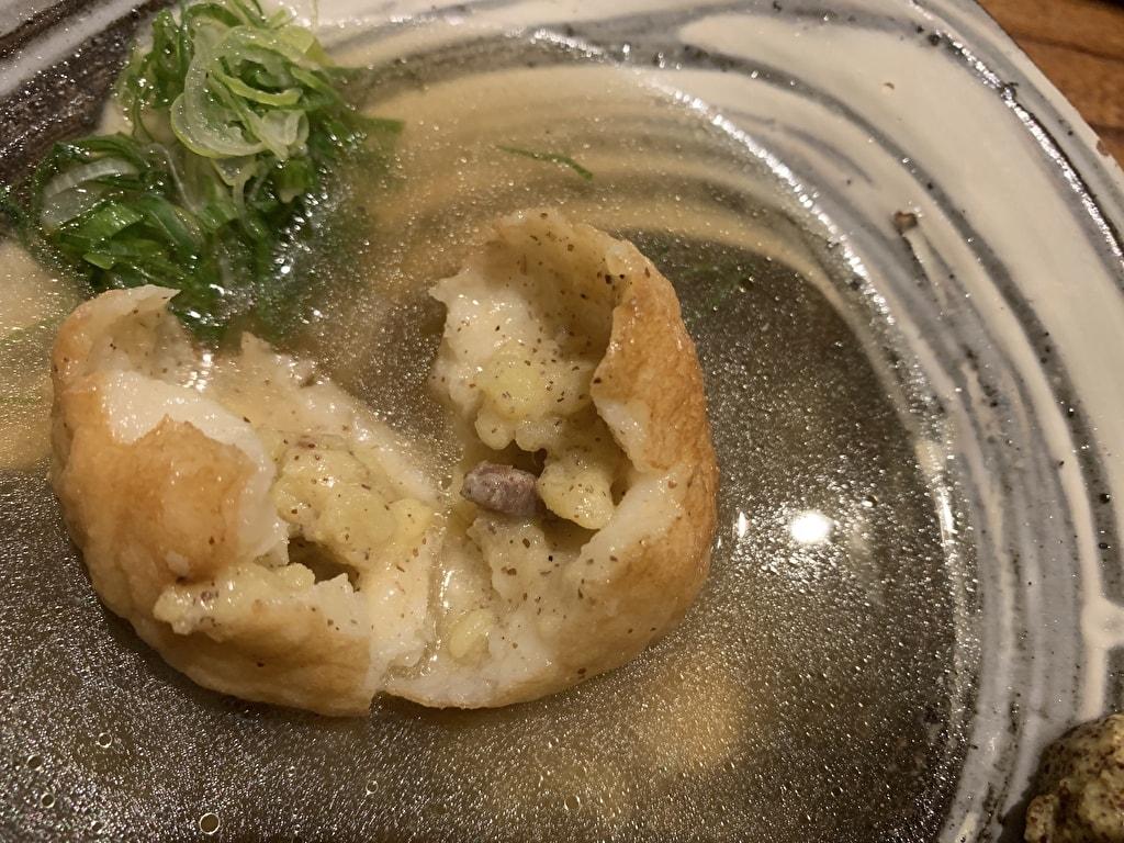 麩屋町うね乃のポテサラ実食